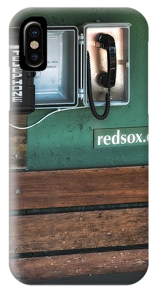 Boston Red Sox Dugout Telephone IPhone Case