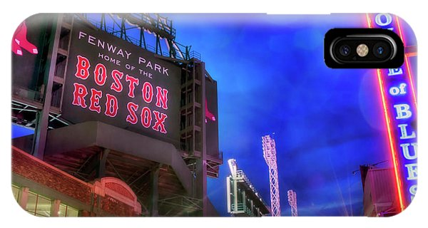 Boston Red Sox Fenway Park At Night  IPhone Case