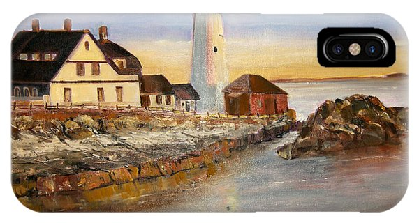 Boston Rocky Coast IPhone Case