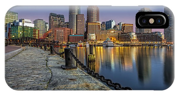 Bean Town iPhone Case - Boston Skyline Dawn by Susan Candelario