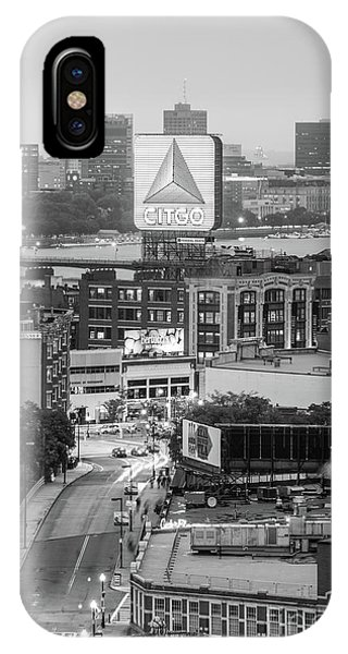 Boston Skyline Photo With The Citgo Sign IPhone Case