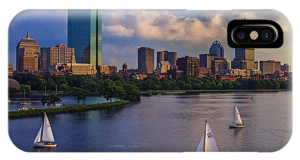 John Hancock Center iPhone Case - Boston Skyline by Rick Berk