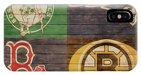Barn iPhone Case - Boston Sports Teams Barn Door by Dan Sproul