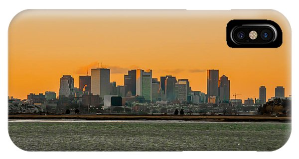 Boston Sunset IPhone Case