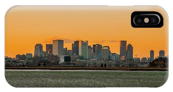 Boston Sunset IPhone Case