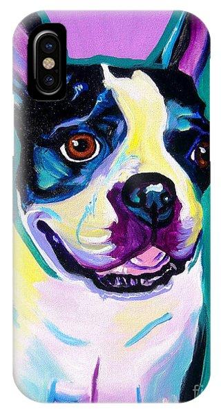 Boston Terrier - Jack Boston IPhone Case