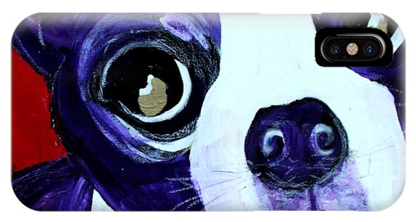 Boston Terrier- Lucy IPhone Case