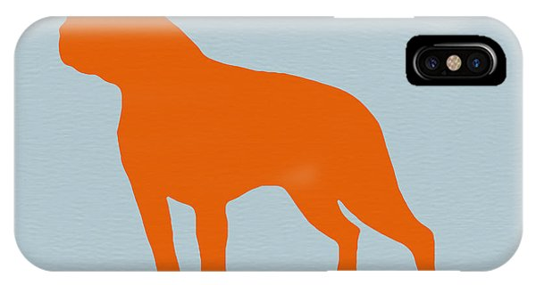 Massachusetts iPhone Case - Boston Terrier Orange by Naxart Studio