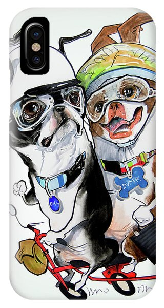 Boston Terriers - Dumb And Dumber IPhone Case