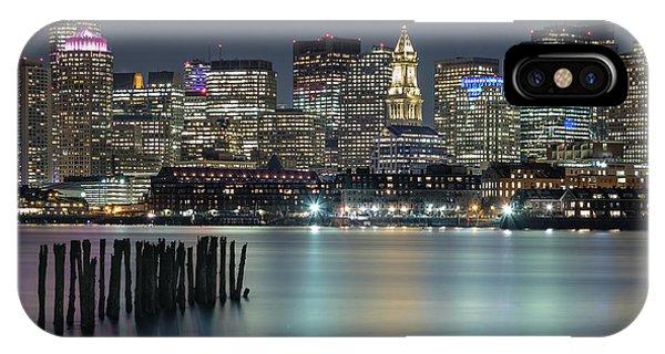 Boston's Skyline From Lopresti Park IPhone Case