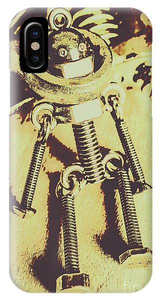 Technology iPhone Case - Bot The Builder by Jorgo Photography - Wall Art Gallery