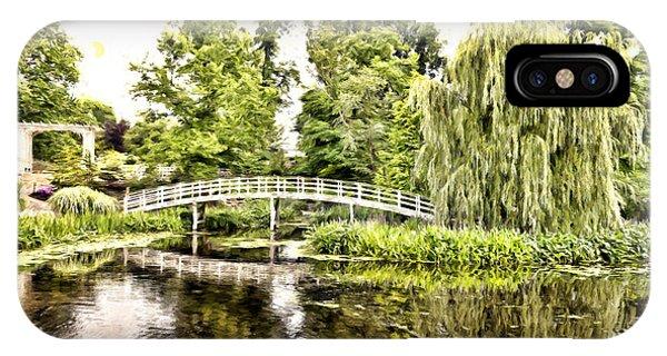 Botanical Bridge - Monet IPhone Case