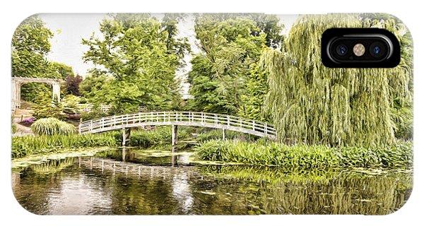Botanical Bridge - Van Gogh IPhone Case