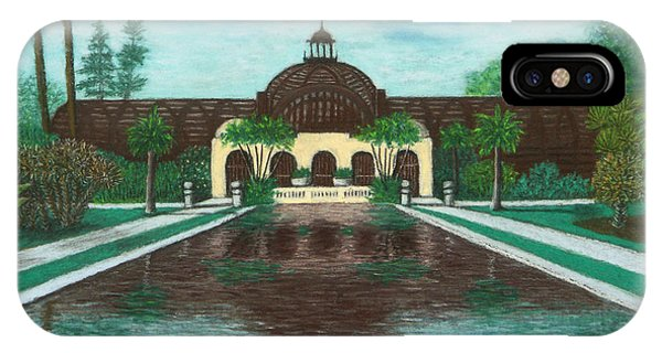 Botanical Building In Balboa Park 02 IPhone Case