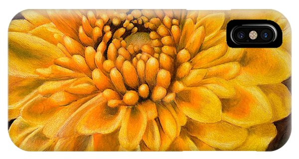 Close Up Floral iPhone Case - Botanical  by Emily Stokes