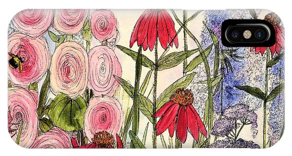 Botanical Wildflowers IPhone Case