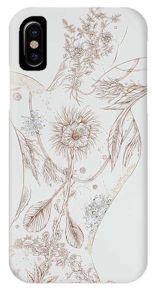 Botanicalia Claire IPhone Case
