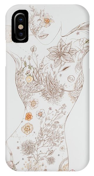 Botanicalia Erica-sold IPhone Case