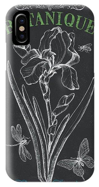 Bee iPhone Case - Botanique 1 by Debbie DeWitt
