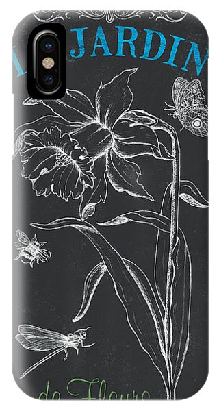 Petals iPhone Case - Botanique 2 by Debbie DeWitt