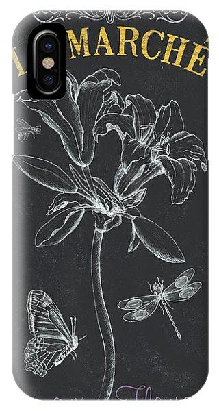 Lilly iPhone Case - Botanique 3 by Debbie DeWitt
