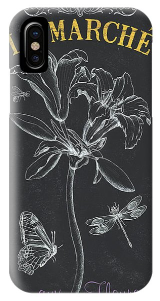 Petals iPhone Case - Botanique 3 by Debbie DeWitt