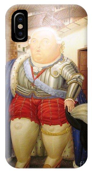 Botero Royal Man IPhone Case
