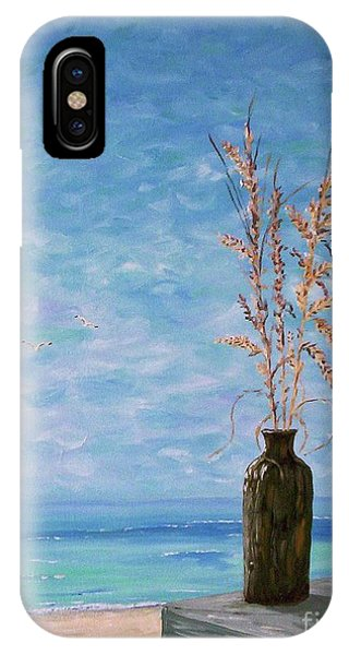 Bottle And Sea Oats IPhone Case