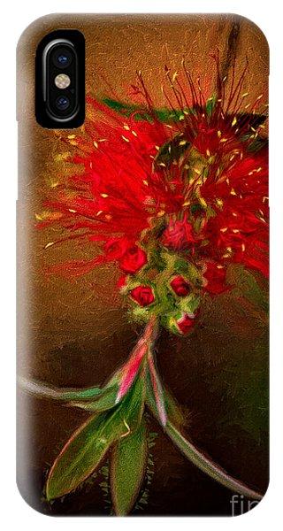 Bottle Brush Flower IPhone Case