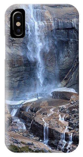 Bottom Part Of Upper Yosemite Waterfall IPhone Case