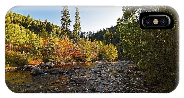 Boulder Colorado Canyon Creek Fall Foliage IPhone Case