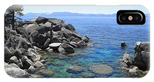 Boulder Cove On Lake Tahoe IPhone Case