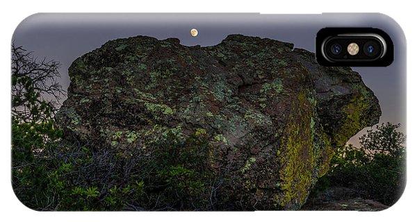Boulder Moonrise IPhone Case