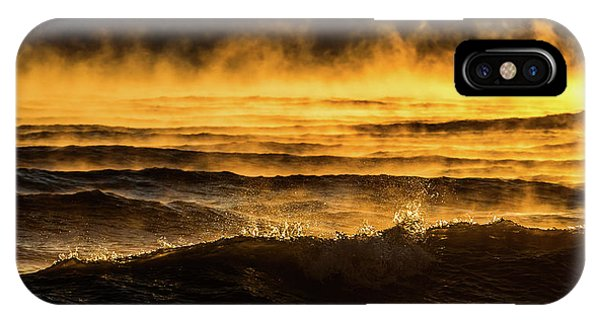 Fire Lake IPhone Case