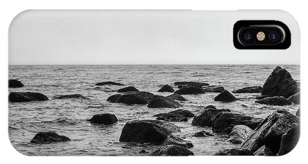 Boulders In The Ocean IPhone Case