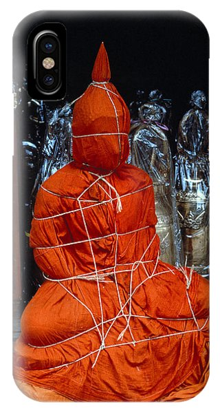 Bound Buddha Phone Case by Carl Purcell