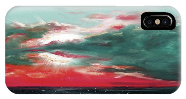 Bound Of Glory - Panoramic Sunset  IPhone Case