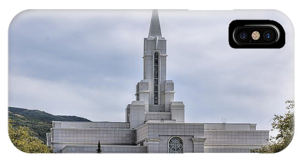 Bountiful Temple In Summer IPhone Case
