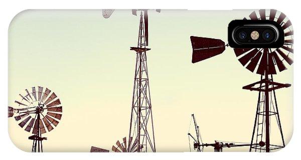 Bountiful Windmills IPhone Case