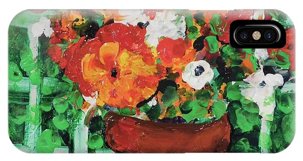 Bouquet A Day Floral Painting Original 59.00 By Elaine Elliott IPhone Case