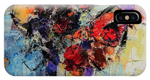 Fauvism iPhone Case - Bouquet De Couleurs by Elise Palmigiani