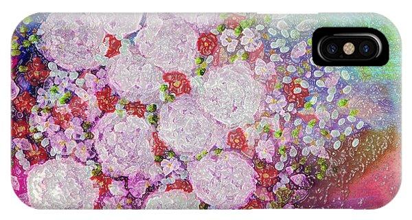 Bouquet Flowers IPhone Case