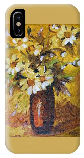 Bouquet Flowers Of Gold IPhone Case
