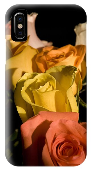 Bouquet In Line IPhone Case