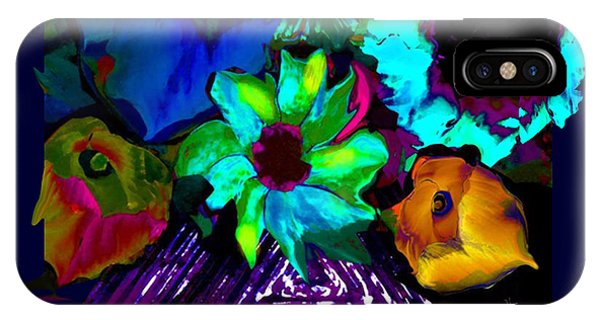 Bouquet In Fauve IPhone Case