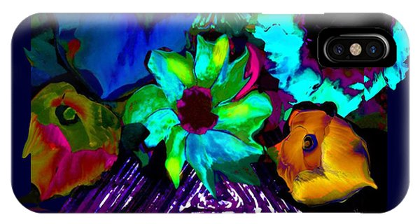 Bouquet In Fauve IPhone Case