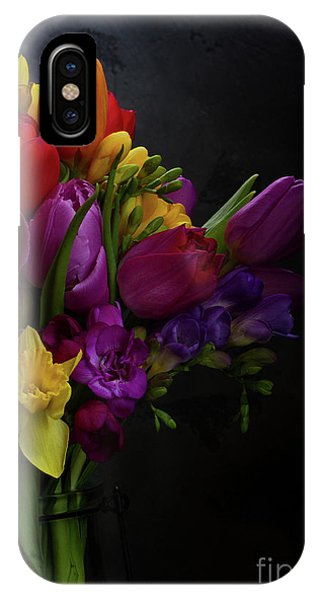 Flowers Dutch Style IPhone Case