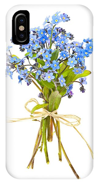 Bouquet Of Forget-me-nots IPhone Case