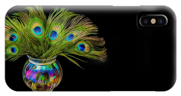 Bouquet Of Peacock IPhone Case