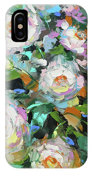 Bouquet Of Peonies  IPhone Case